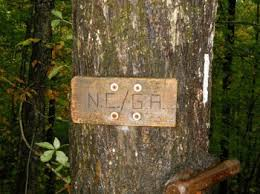 Just a modest wooden sign in the middle of the woods, but for me it signified 75 miles of hard hiking