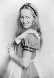 Alice in Wonderland play promo card_1933