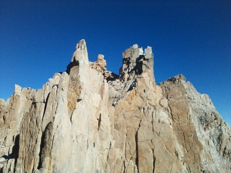 Climbing toward Whitney