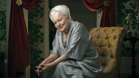 Olivia de Havilland portrait