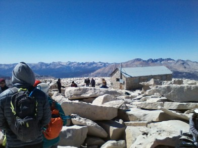Mt. Whitney shelter