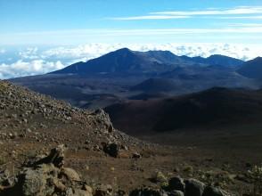 Inside Haleakala