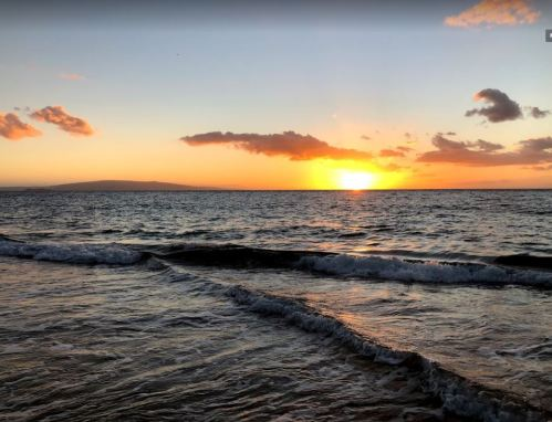 Sunset from Kamaole 2