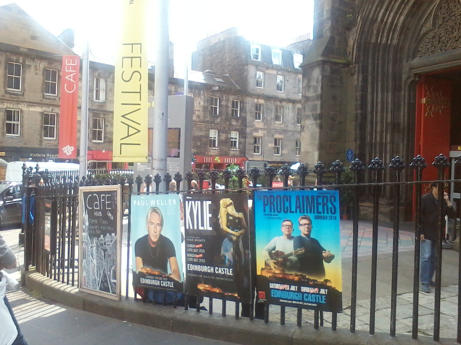 Edinburgh Castle_Weller concert
