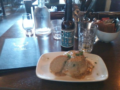Haggis and Brewdog Punk IPA