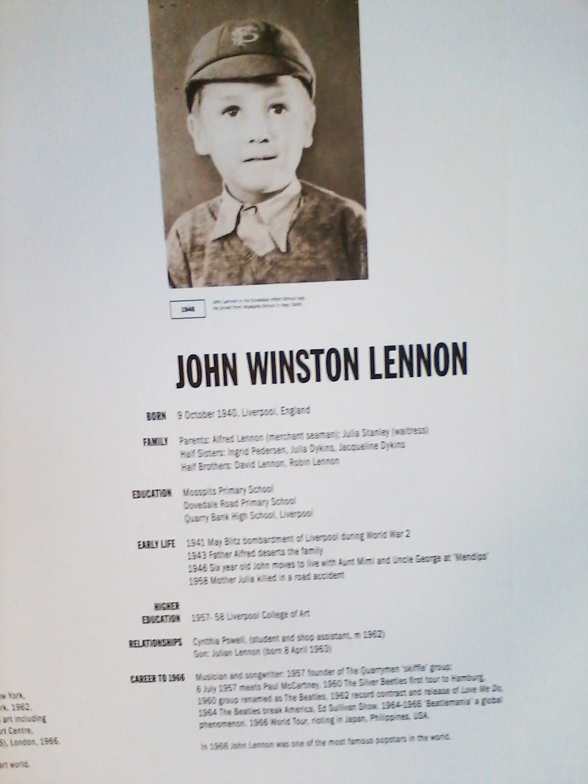 John and Yoko exhibit, Liverpool 2