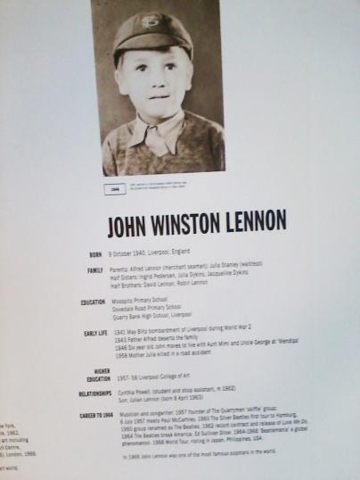 John and Yoko exhibit, Liverpool 2