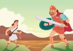 Battle Of David And Goliath
