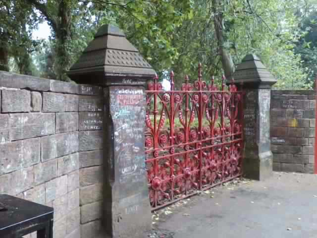 Strawberry Field gate