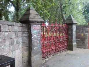 Strawberry Field gate